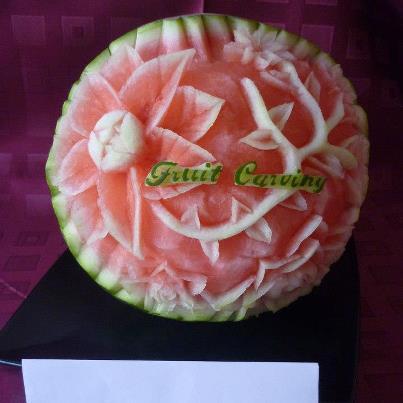 Fruit Carving - Ako sa starať o čerstvosť ovocia a zeleniny