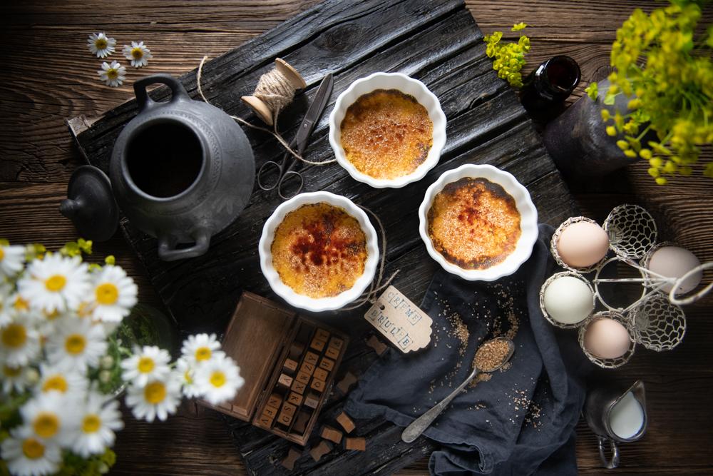 Mirka Chvosteková: Crème brûlée s karamelovou krustou