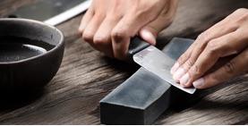 Jak správně naostřit nůž?