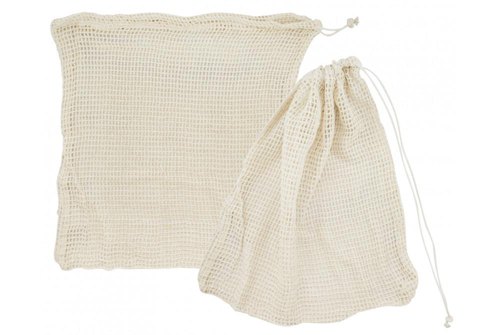 Bavlnené pletené eko ♻️ vrecká Natural