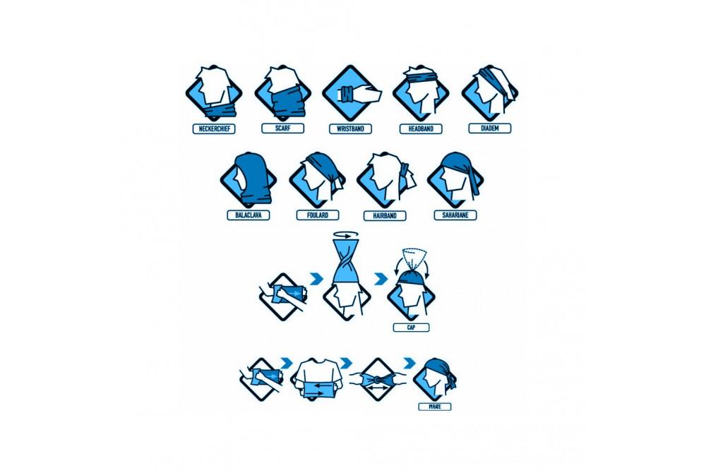 Bufka - multifunkčná šatka s potlačou