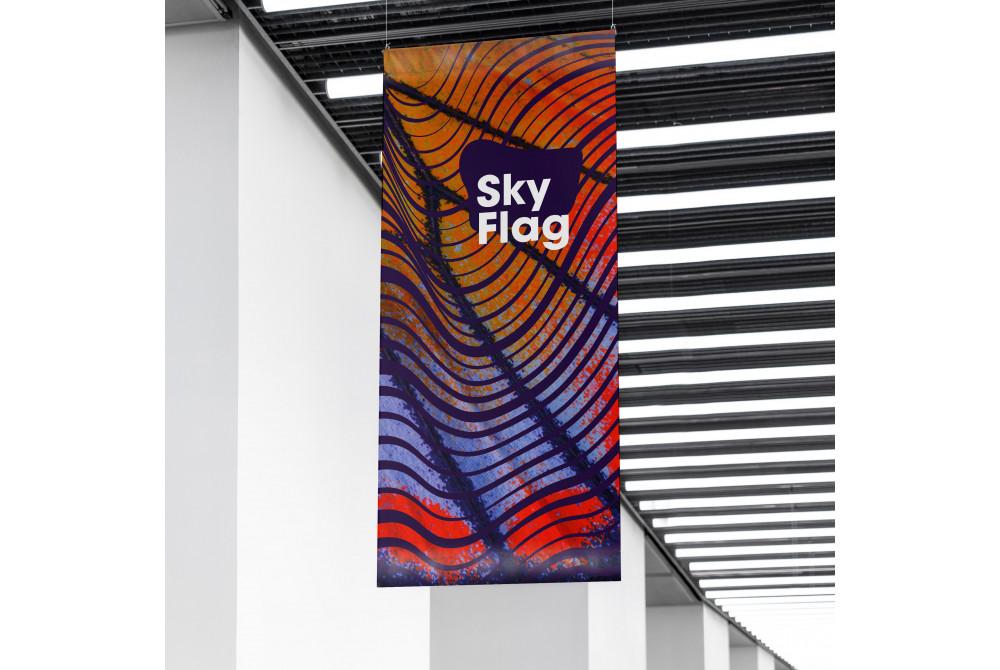 Sky Flag vlajka na stožiar