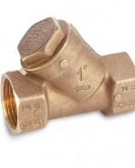 "Mosadzný Y filter, 0 až 95°, typ 1905 3/4"" 19050006"