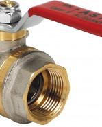 """ASTER 2378R407 Guľový ventil na vodu s odvodnením F/F 1.1/4"""", DN 32, oceľová páka"""
