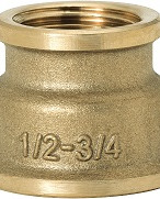 """GEBO Gold - Ms Nátrubok redukovaný F/F 1""""x1/2"""", G240-25BR"""