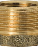 "GEBO Gold - Ms Redukcia M/F 3/8""x1/8"", G241-15BR"