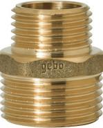 """GEBO Gold - Ms Vsuvka redukovaná M/M 1.1/2""""x3/4"""", G245-31BR"""