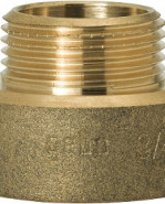 """GEBO Gold - Ms Prechod redukovaný M/F 1/2""""x3/8"""", G246H-19BR"""
