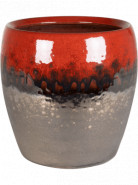 Amora Couple Black Red 17x17 cm