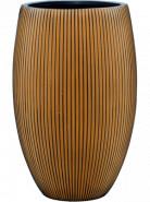 Capi Nature Groove Vasse elegant deluxe black gold 39x60 cm