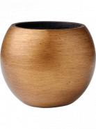 Capi Nature Retro Vase Ball Gold 29x25 cm