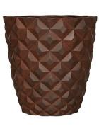 Capi Lux Heraldry Vase taper round I rust 38x40 cm