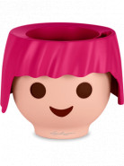 Lechuza Ojo All-in-one set Ruby pink (ruzova) 21x16 cm
