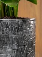 Luxe Lite Universe Note Partner silver 33x70 cm