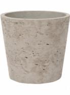 Rough Bucket S grey washed 14x12 cm