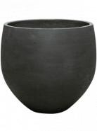Rough Orb XXL black washed 48x43 cm