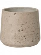 Rough Patt M grey washed 16x14 cm