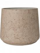 Kvetináč Rough Patt XXL béžovo sivý (Grey washed) 34x28,5 cm