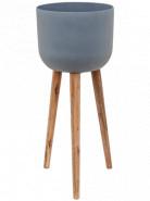 Refined Retro with feet Landon grey 36x86 cm
