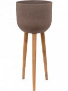 Refined Retro with feet Landon brown 40x97 cm