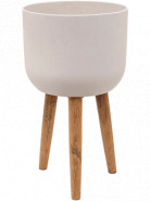 Refined Retro with feet Logan natural white 36x63 cm