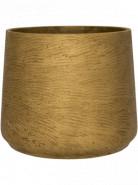 Rough Patt L Metallic Gold 20x16 cm