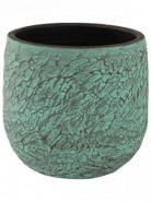 Indoor Pottery Pot Evi Antiq Bronze 28x25 cm