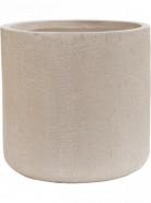 Raindrop Cylinder Beige 34x32 cm