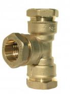 CODITAL - Ms T-kus na PE, 7130 BT 50x50x50, voda PN 25