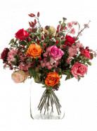 Bouquet flame roses 23 Stems 45x50cm