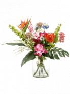 Bouquet exotic mix 27 stems 55x62 cm