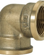 "GEBO Gold - Ms Koleno 90° F/F 2"", G90-09BR"
