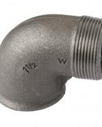 """HD Čierny fiting - Koleno 92 M/F 1.1/2"""", 09201007"""