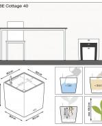 Cube Cottage mocha komplet 40