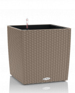 Lechuza Trend Cube Cottage All inclusive set sand brown 30x30x30