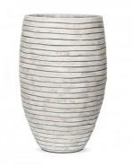 Capi Nature Row Vase deluxe elegant ivory 57x86cm