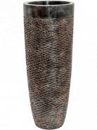 Kvetináč Luxe Lite Universe Layer Partner bronzový 36x90 cm