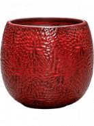Kvetináč Marly Pot červený 30x28 cm
