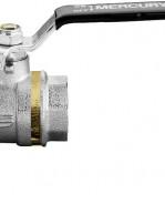 """MERCURY 0411N402 Guľový ventil na vodu F/F 1/4"""", DN 8, oceľová páka"""