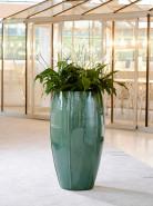 Kvetináč Moda Turquoise Partner tyrkysový 53x92 cm
