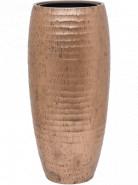 Kvetináč Opus Hammered Partner zlatý (s vnútrom) 35x75 cm