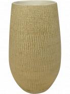 Kvetináč Indoor Pottery Pot High Ryan Shiny Sand béžový 18x30 cm
