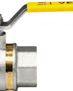 """VENUS 1011G205 Guľový ventil na plyn F/F 3/4"""", DN 20, oceľová páka"""