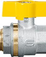 """VENUS 1022G266 Guľový ventil na plyn M/F 1"""", DN 25, T-páka"""