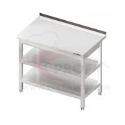 Pracovný stôl s dvoma policami 1300x700x850mm