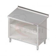 Pracovný stôl krytovaný - otvorene 1100x600x850mm