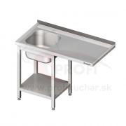 Umývací stôl s priestorom pre podstolovú umývačku – PRAVÝ 1500mm