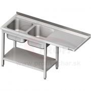 Umývací stôl pre podstolovú umývačku STALGAST® pravý