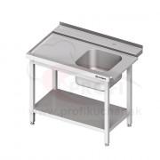 Vstupný stôl k priebežnej umývačke STALGAST – LAVÝ 1100mm
