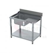Vstupný stôl k priebežnej umývačke ARISTARCO® – s drezom 1000mm